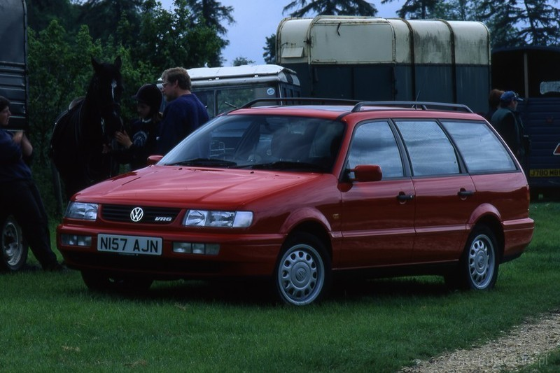 Volkswagen Passat B4 1 9 TDI 90 KM 1996 kombi skrzynia automatyczna