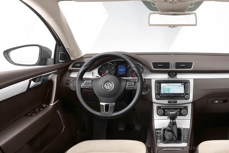 Volkswagen passat b7 2 0 tdi 140 km 2014 kombi skrzynia r czna nap d 4x4 zdj cie 6 for Edha interieur b v
