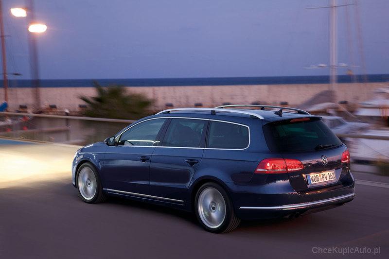 Volkswagen Passat B7 3 6 V6 300 Km 2014 Kombi Skrzynia