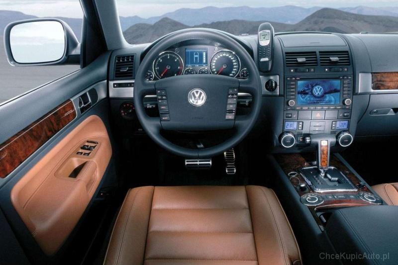Volkswagen Touareg I 3 2 V6 220 Km 2003 Suv Skrzynia